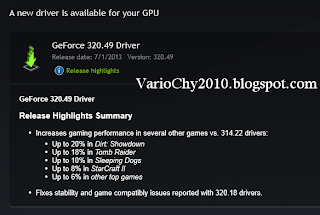 Download Driver Nvidia Terbaru