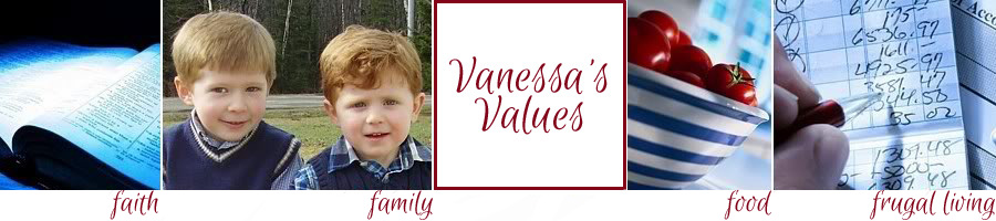 Vanessa's Values