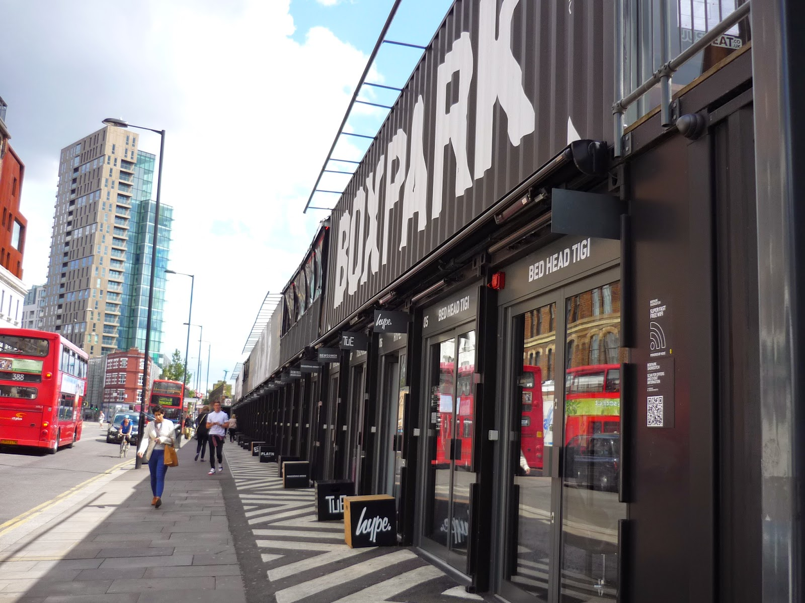 Box Park Shoreditch Pop Up Container Shop Review
