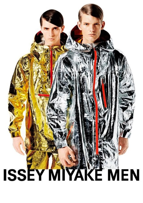 Issey Miyake FW13 Campaign for Menswear