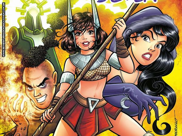 Lançamentos de fevereiro da Panini Comics - Maurício de Sousa