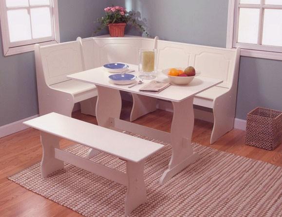 Breakfast Corner Nook Dining Set