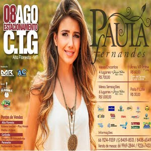 Show Paula Fernandes