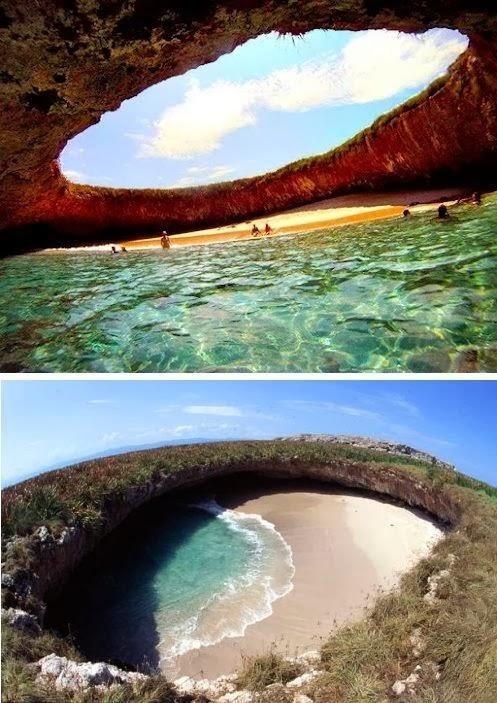 Hidden Beach, la spiaggia più bella del mondo