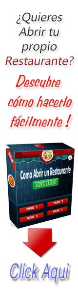 ¿Cómo abrir tu Restaurante?