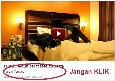 Video Santri Mabuk di Hotel
