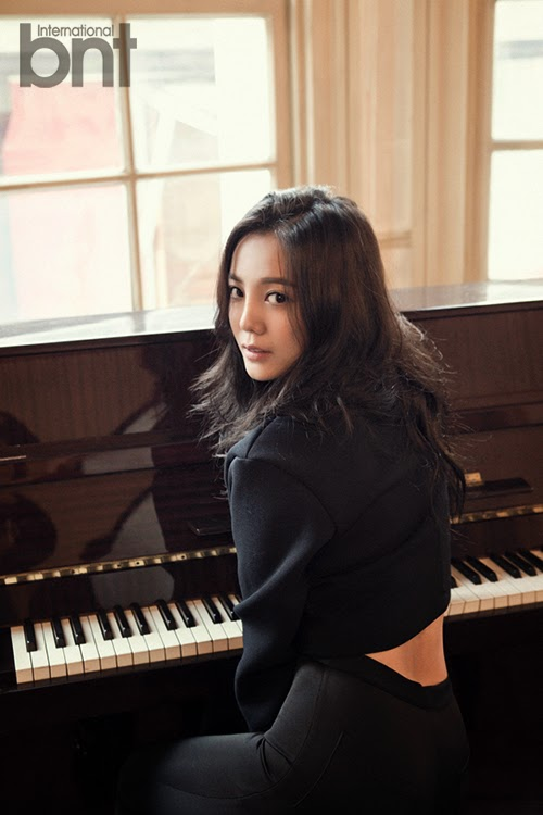 Go Eun Ah - bnt International December 2014