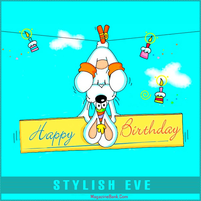 New Happy Birthday Wishes Greetings Card