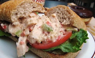 Asian Chicken Salad Sandwiches Recipe | Healthy Chicken Salad Sandwiches Recipe