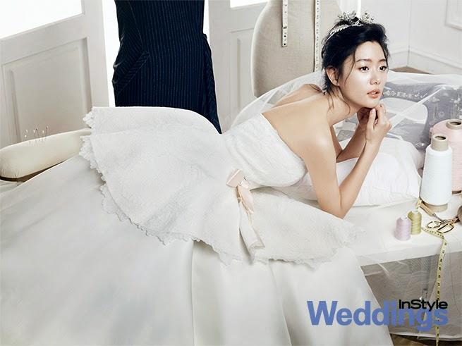 Clara - InStyle Weddings Magazine January Issue 2014