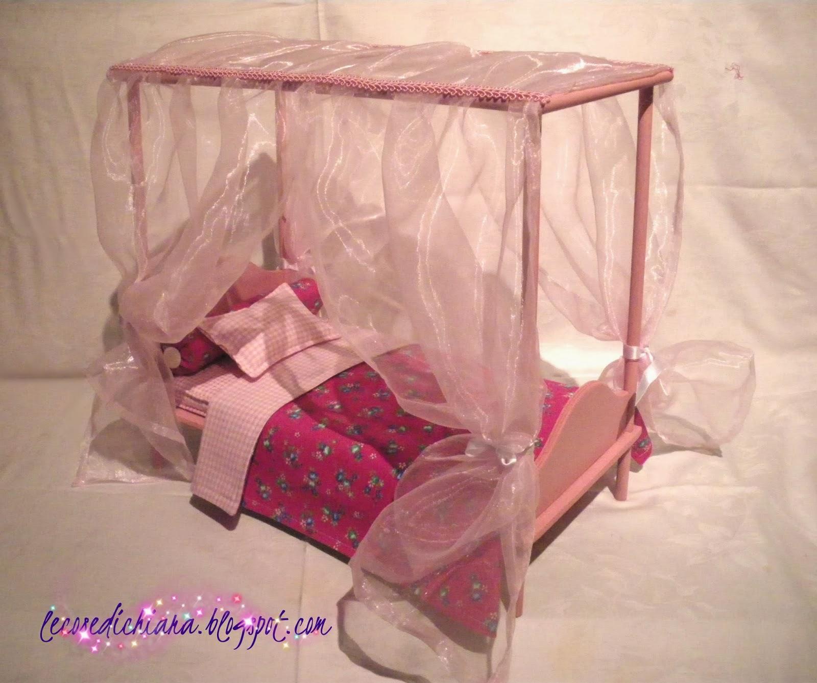 Lecosedichiara un letto a baldacchino per barbie - Letto barbie prezzo ...