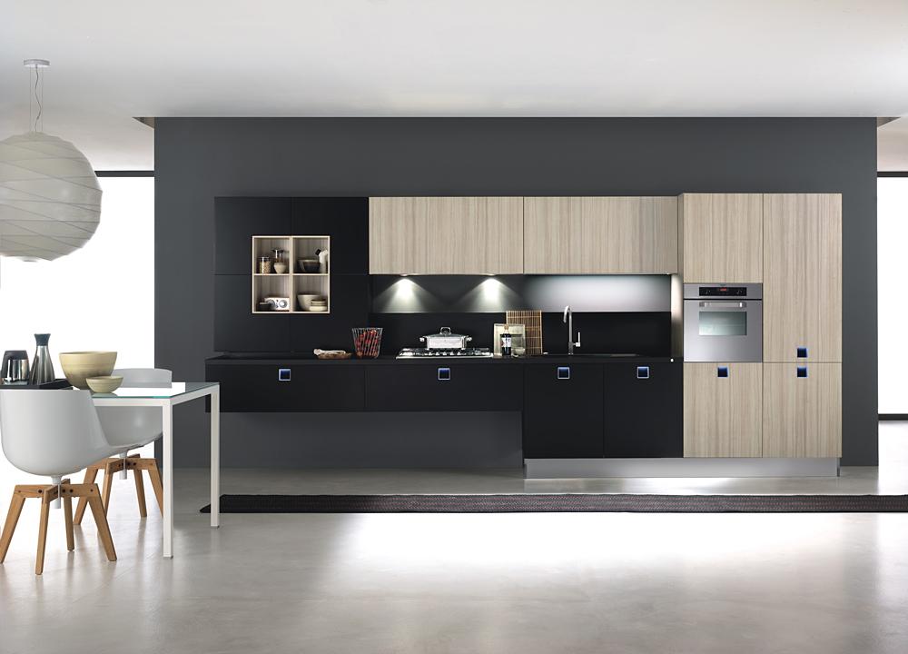 Tiradores con luces que personalizan la cocina cocinas - Cocinas con encimera de madera ...