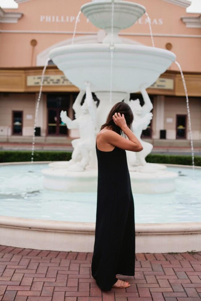 black maxi dress under $30