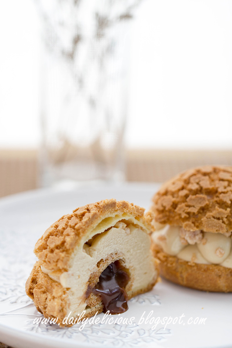 dailydelicious: Paris Brest Choux: Delicious Nutty choux