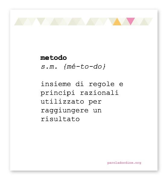 paroladordine-metodo