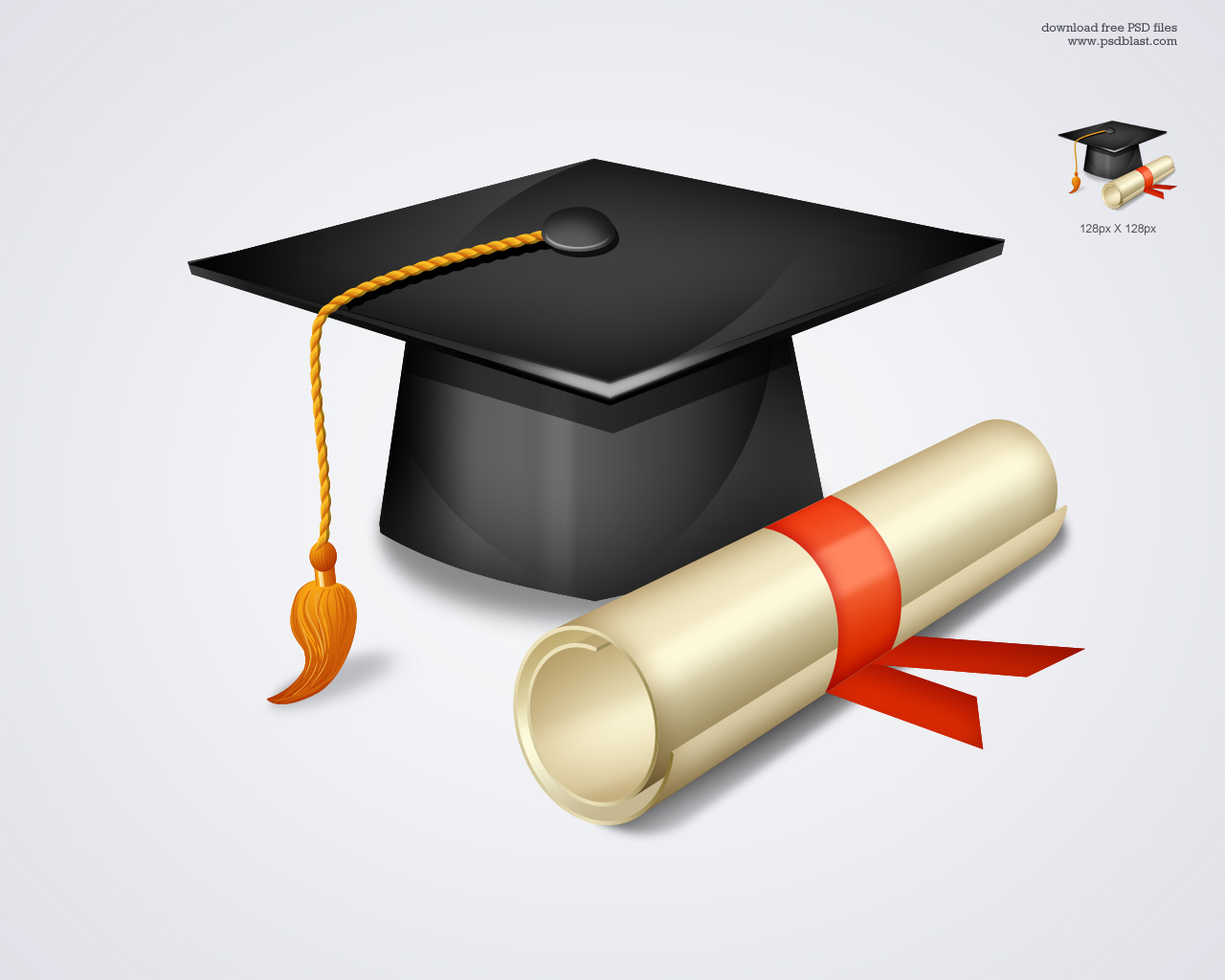 Free psd store red curtain background - Free High School Graduation Icon