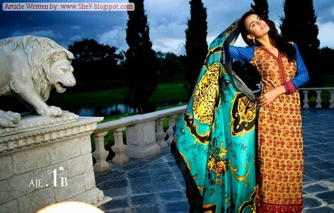Magazine / Catalog of Asim Jofa Luxury Eid-2014