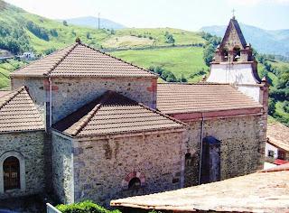 Lena, Pajares, iglesia de San Miguel