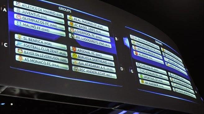 Keputusan Undian UEFA Champions League