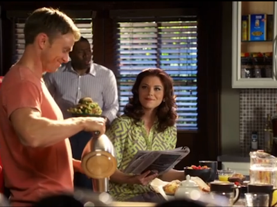 "Annabeth's Alice & Trixie Dylan Geometric Print Dress ""Hart of Dixie"" Season 2, Episode 22: ""On the Road Again"""
