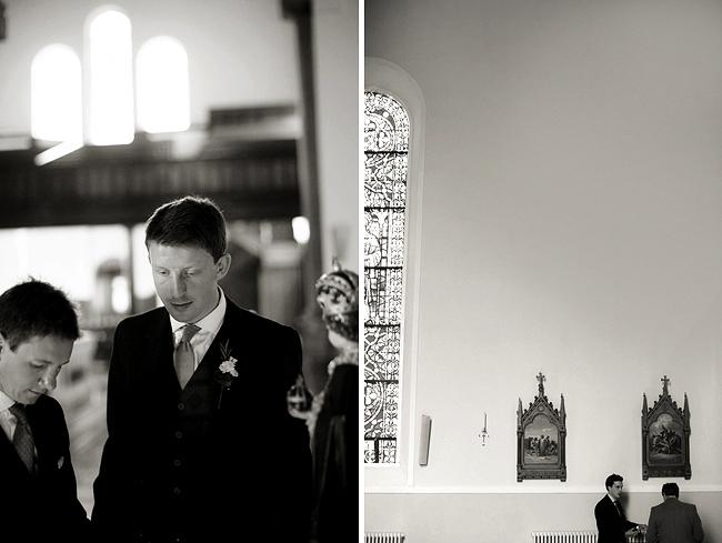 Wedding Photography Doonbeg Ireland, church ceremony