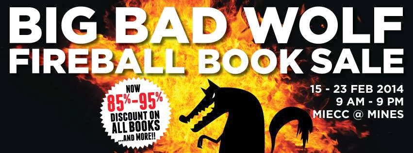 Big Bad Wolf Fire Ball Book Sale