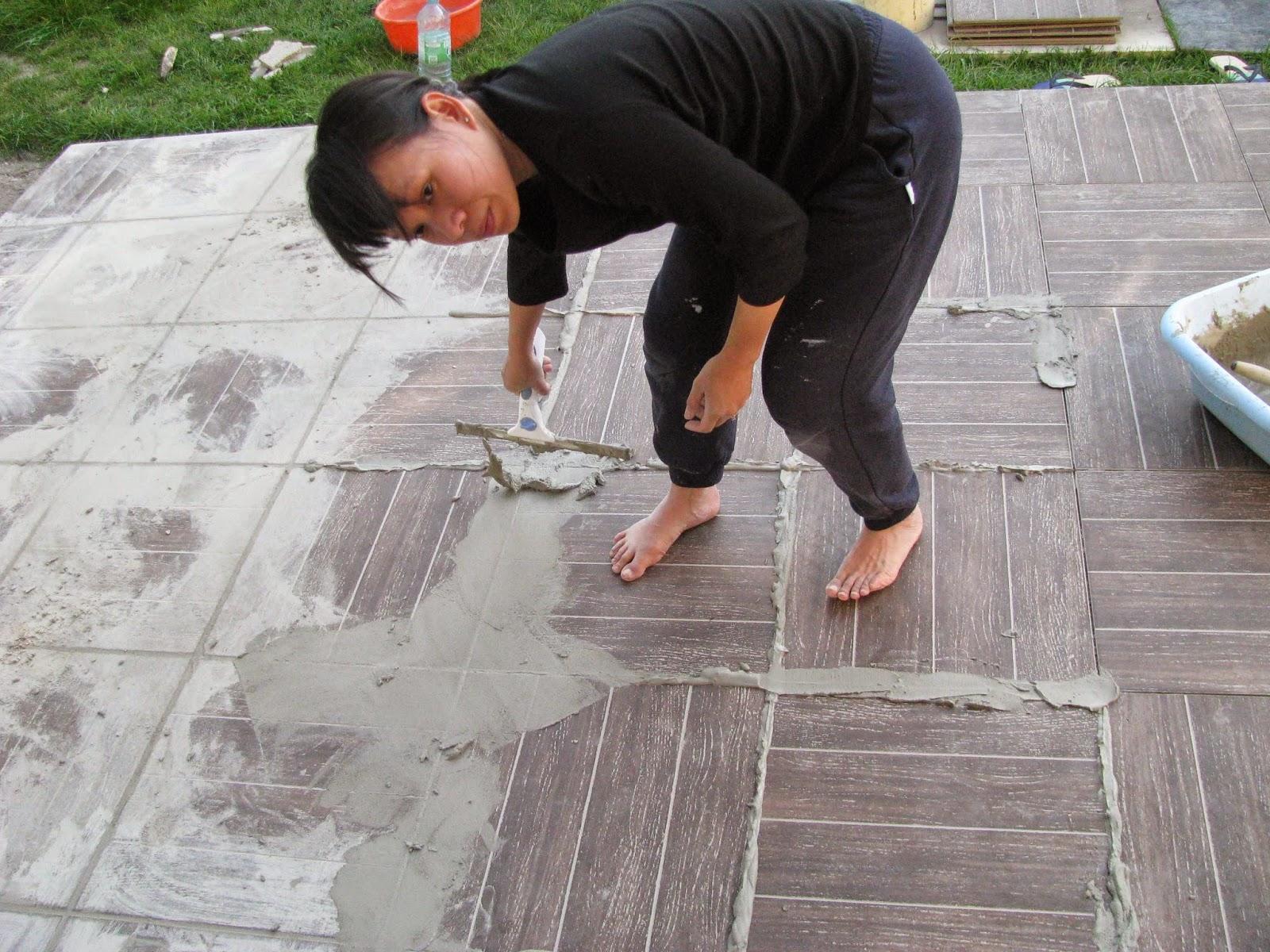 Je fais construire ma maison carreler la terrasse 2 3 - Carrelage terrasse leroy merlin ...