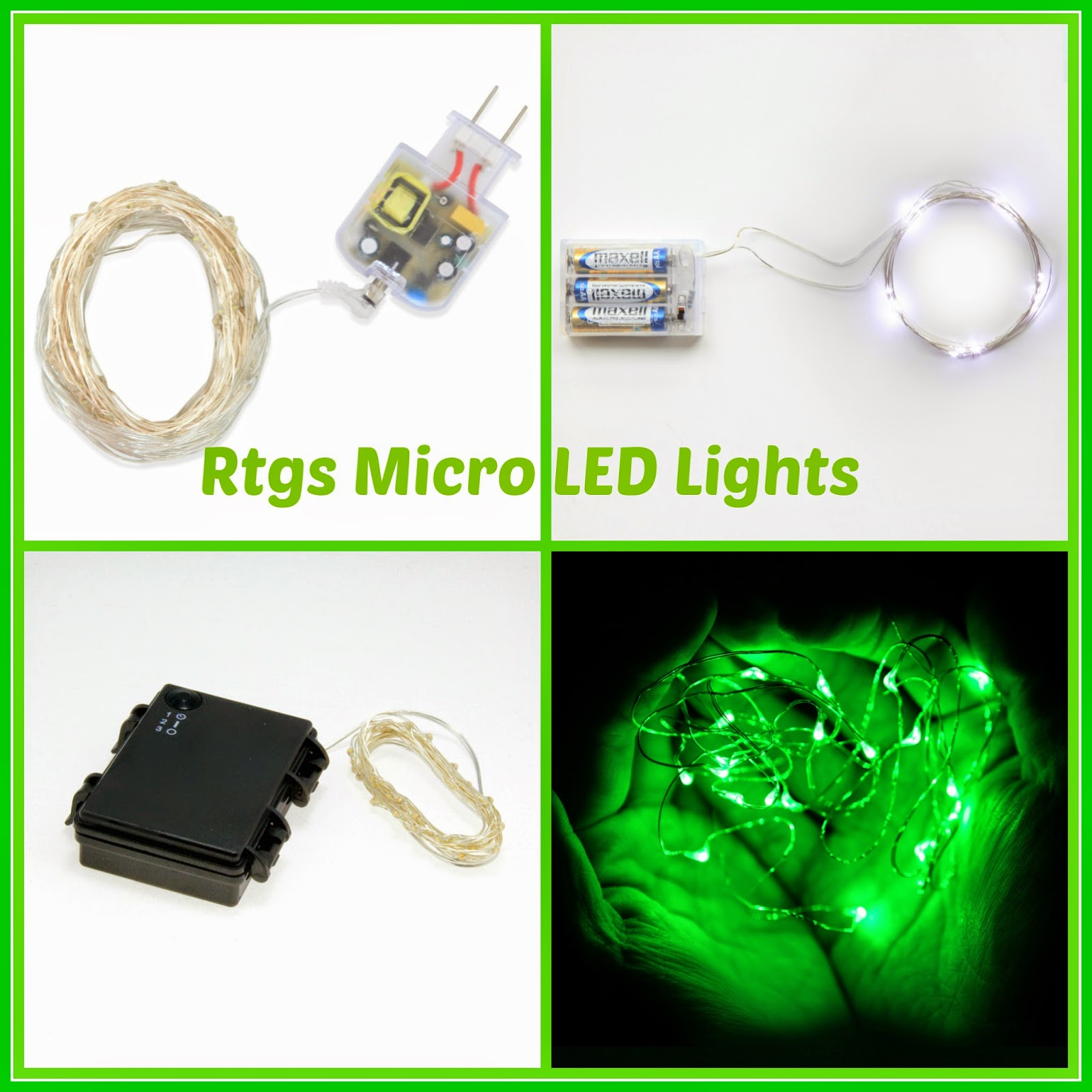 Micro LED String Lights Giveaway