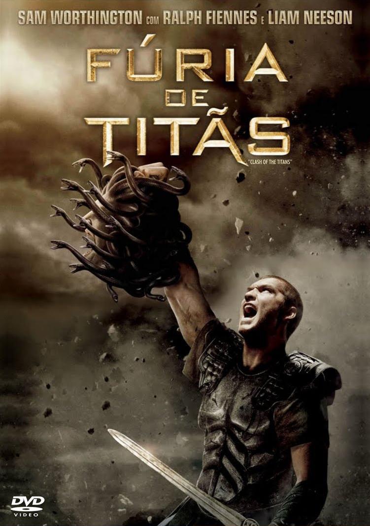 Filme Fúria De Titãs Dublado AVI DVDRip