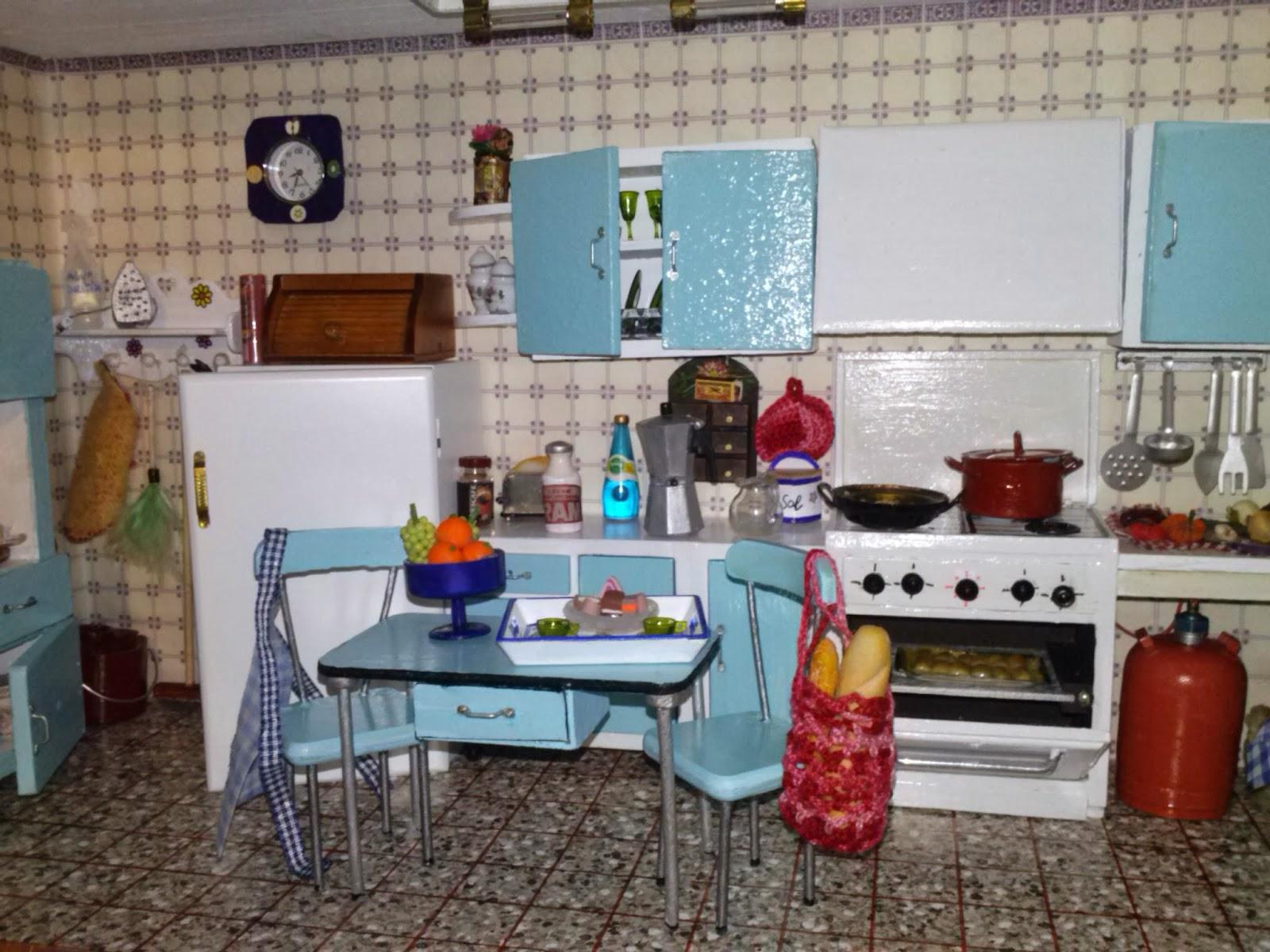 un mundo en miniaturas cocina de los a os 70