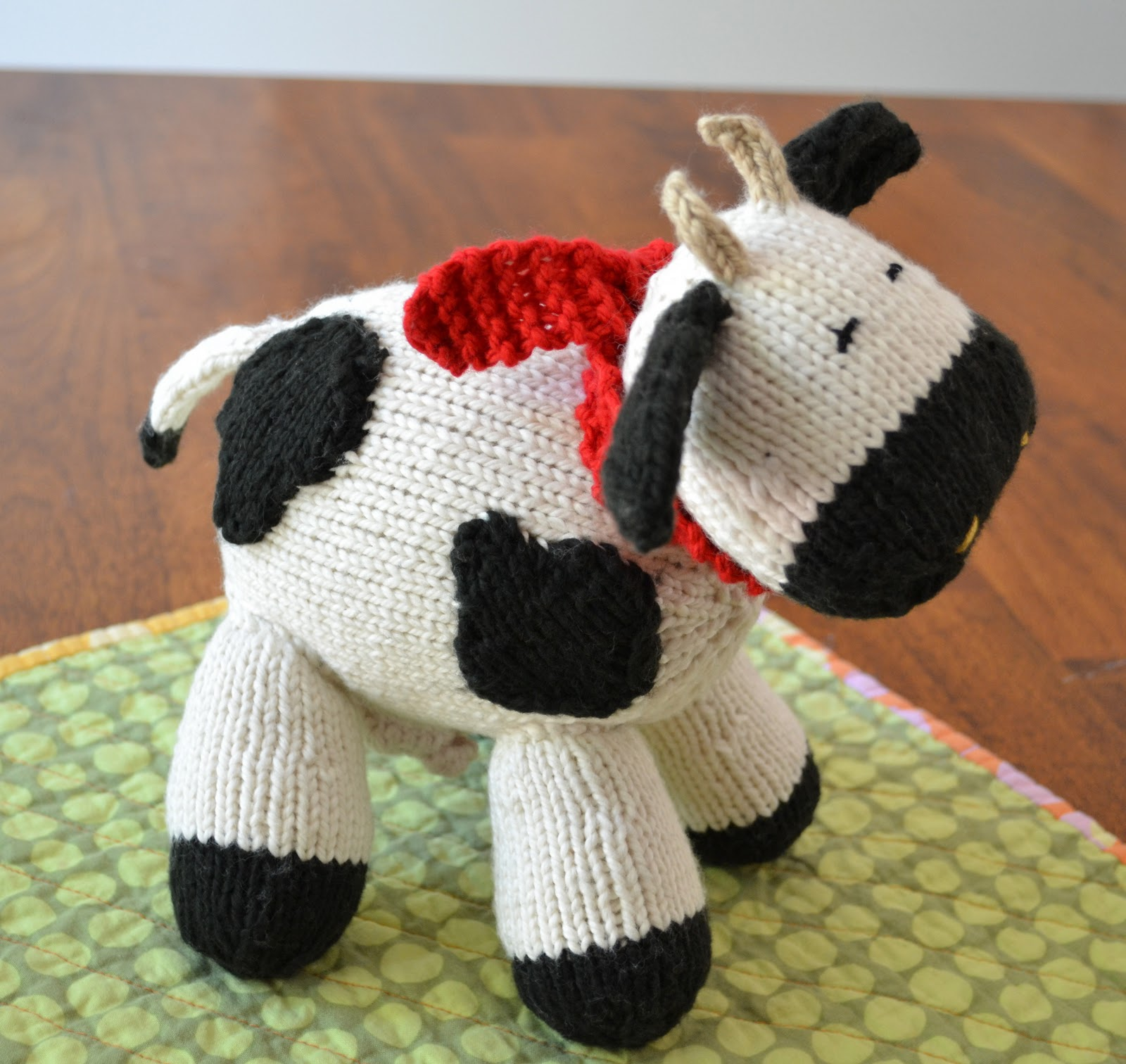 Susan B. Anderson: Milk Cow Pattern is Now Available!