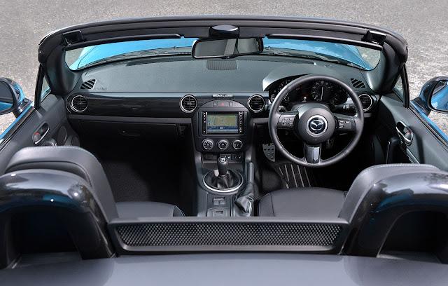 Limited Edition Mazda MX-5 'Sport Graphite' interior