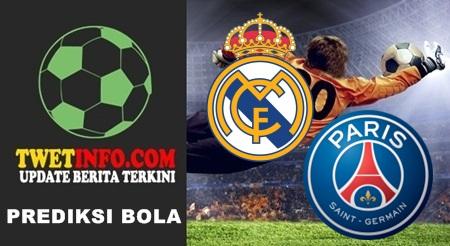 Prediksi Real Madrid vs PSG