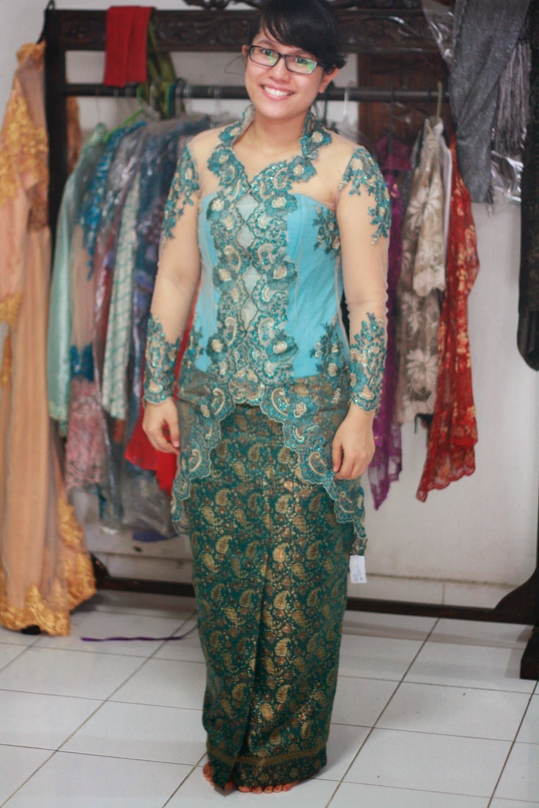 Model Kebaya Muslim Wisuda Ukuran Big Size