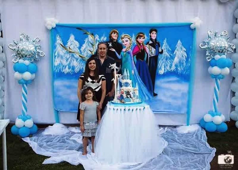 13 gambar dekorasi unik ulang tahun anak tema frozen si