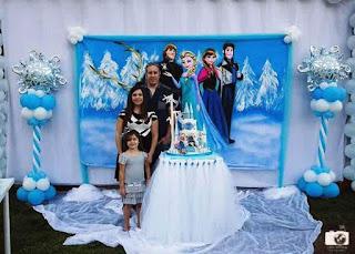 Dekorasi Ulang Tahun Anak Perempuan Tema Frozen