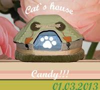 моя конфетка домик для кошки  РАЗЫГРАН