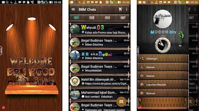 BBM Mod Beta Wood Themes