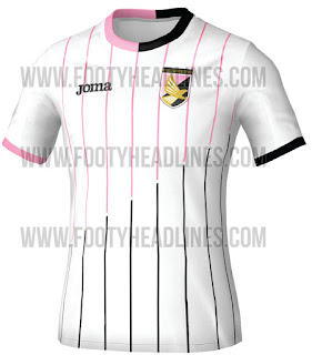 berita bocoran jersey musim depan Jersey Palermo Tandang 2015/2016 di enkosa sport