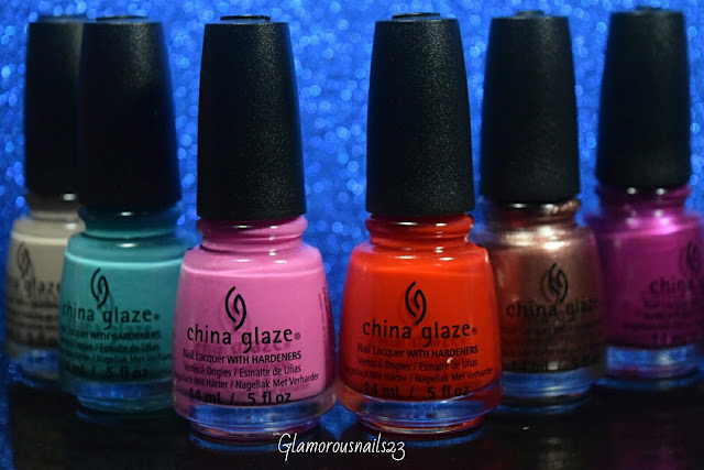 China Glaze Desert Escape Collection