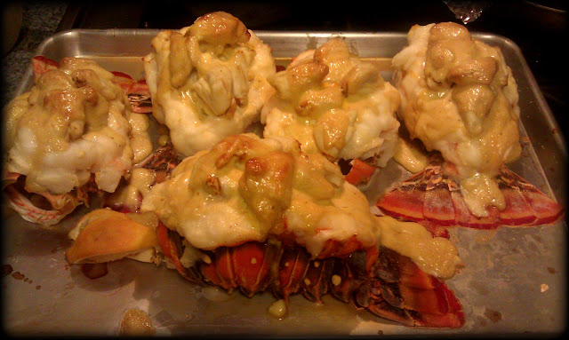 Lobster with Crab Imperial