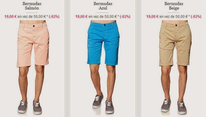 Bermudas por menos de 20 euros