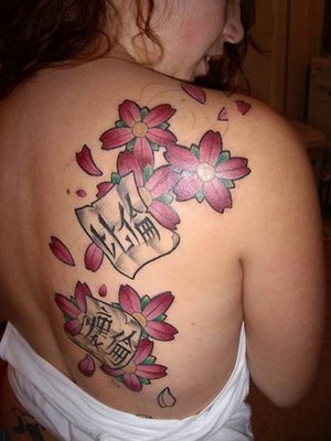 Tribal Tatto on Bridal And Fashion  Tribal Flower Tattoo Designs