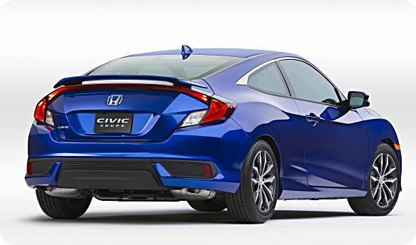 2016 Honda Civic Coupe Concept