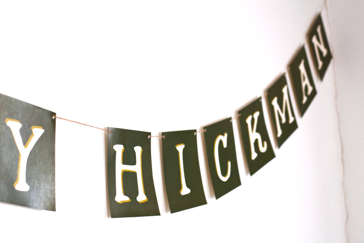 baby name banner