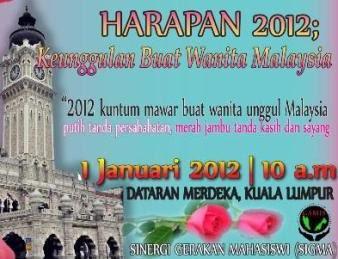HARAPAN 2012 : KEUNGGULAN BUAT WANITA MALAYSIA