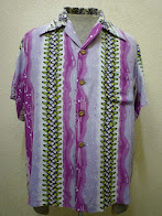 画像① ~50's           WAIKIKI SPORTS            BORDER PATTERN            HAWAIIAN SHIRTS