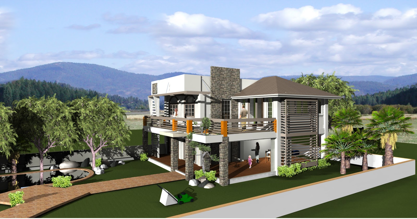 Home construction design