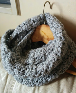 かぎ針編み☆お洒落でぬくぬくスヌード編み方&編み図