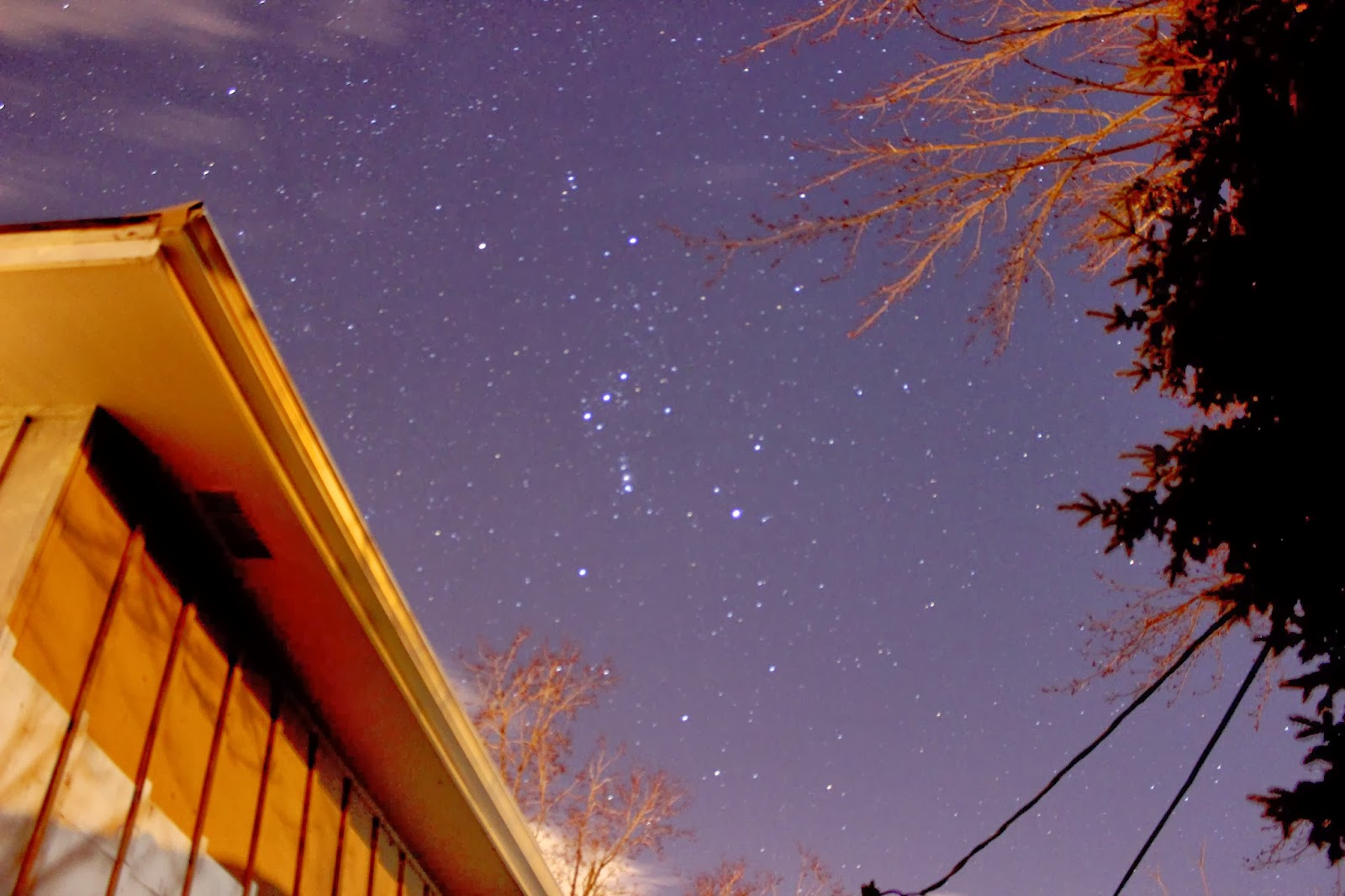 the natural world the big dipper and orion eye astronomy